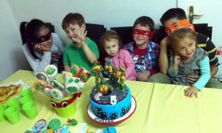 Ninja Kaplumbağalar Cup Cake