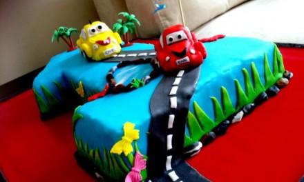 1 Yaş Pastası – Arabalar