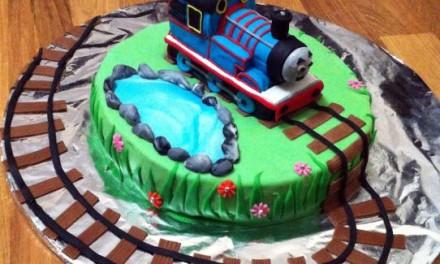 1 Yaş Pastası – Thomas